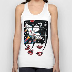 Let's talk about spaceships Unisex Tank Top