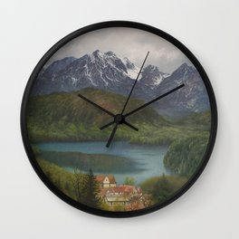 From the Castle Window Wall Clock