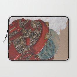 Red Ship Rising Laptop Sleeve
