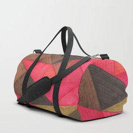 Geometric experience 01 Duffle Bag