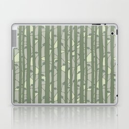 Into The Woods green Laptop & iPad Skin