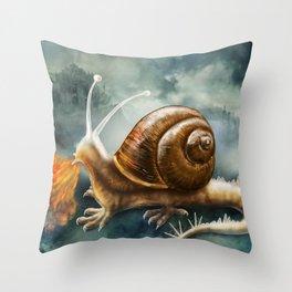 Snaggon Throw Pillow