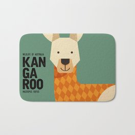 Hello Kangaroo Bath Mat