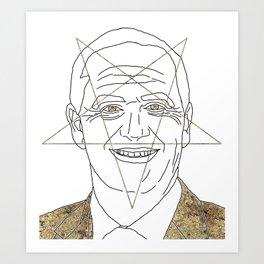 ORDINARY KIWI BLOKE PART III: TRUE FORM Art Print