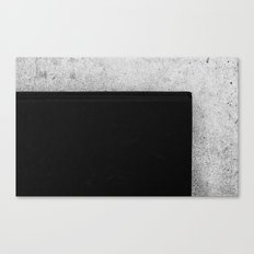 Book and Stone Canvas Print