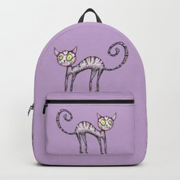 Funny cat Backpack