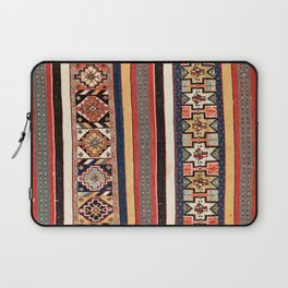 Salé  Antique Morocco North African Flatweave Rug Print Laptop Sleeve