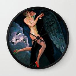 Tango of the Archangel by Kees Van Dongen Wall Clock