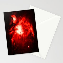 Orion NeBULA : Red Stationery Cards