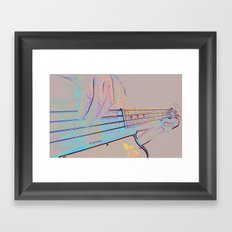 Bass-ics Framed Art Print