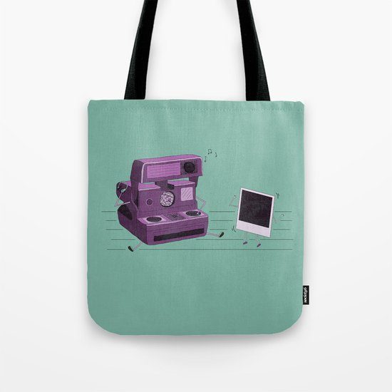 Shake It Like A Polaroid Picture Tote Bag