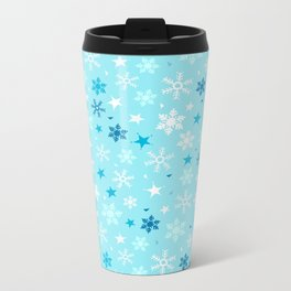 Let it snow! Metal Travel Mug