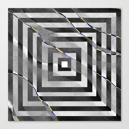 al stylish art squares design for home ornament. Canvas Print