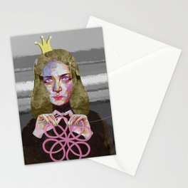 Queen of crochet Stationery Cards