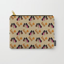 Put On Shoes Carry-All Pouch