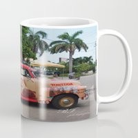 runner Mugs featuring Rum Runner by bfphotography