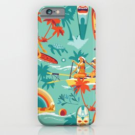 Hawaiian resort iPhone Case