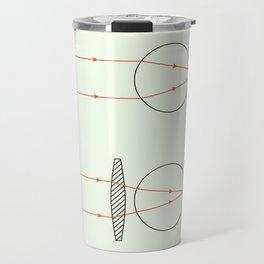 Prisms & Lenses - Convex Travel Mug