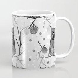 Black And White Owls Coffee Mug
