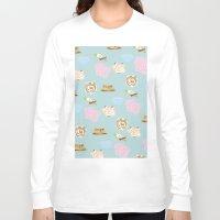 breakfast Long Sleeve T-shirts featuring Breakfast by LISACYO