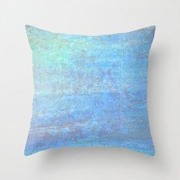 Aqua Serenity Throw Pillow