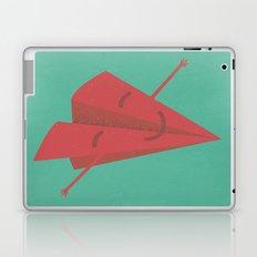 Paper plane Laptop & iPad Skin
