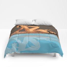 POOL SIDE Comforters