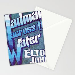Madman Across The Water Stationery Cards