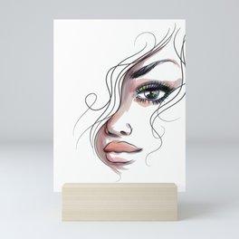 'enhonte' Mini Art Print