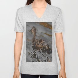 Two In Tow Unisex V-Neck