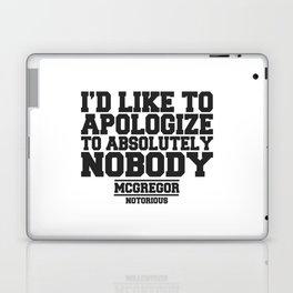CONOR MCGREGOR QUOTES Laptop & iPad Skin
