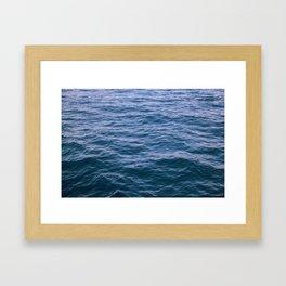Sea - Water - Ocean Framed Art Print
