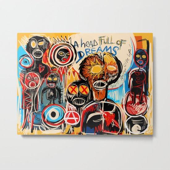 Head full of dreams Metal Print