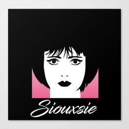 Siouxsie Canvas Print