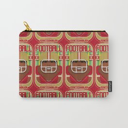American Football Red and Gold - Enzone Puntfumbler - Hayes version Carry-All Pouch