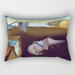 Salvador Dali The Persistence of Memory 1931 Artwork, Wall Art, Prints, Posters, Tshirts, Men, Women Rectangular Pillow