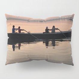 Morning Row in Charleston Pillow Sham