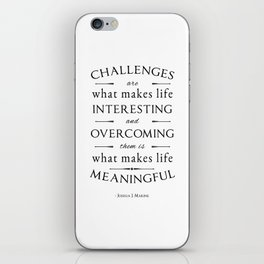 Challenges  iPhone Skin