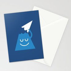 A Friendly Mountain Greeting Stationery Cards