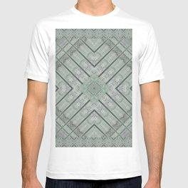 Refreshing Mint Green Tea Maze T-shirt