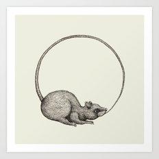 'Ouratoros' Art Print