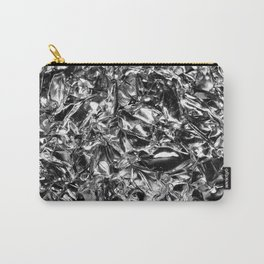 Striking Silver Carry-All Pouch