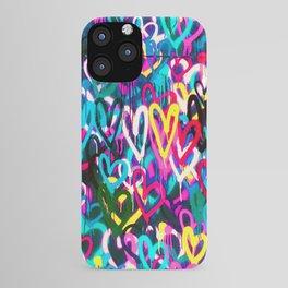 HEARTS STREET iPhone Case