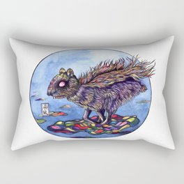 Chinese Mythic Creatures and Legends 【山海神兽·插画】   Rectangular Pillow