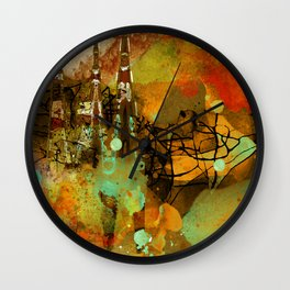 The last mohicans Wall Clock