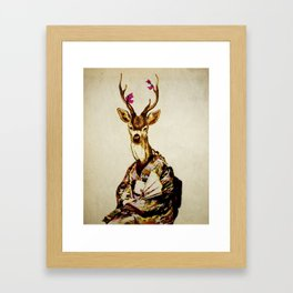 Memoirs of a Deer Framed Art Print