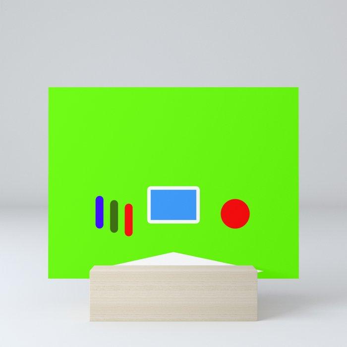 Buzz Year Mini Art Print