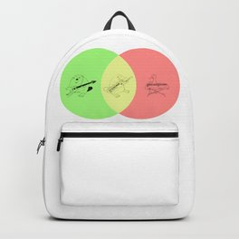 Keytar Platypus Venn Diagram - GYR Backpack