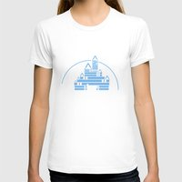 library T-shirts featuring The Library  by bookwormboutique