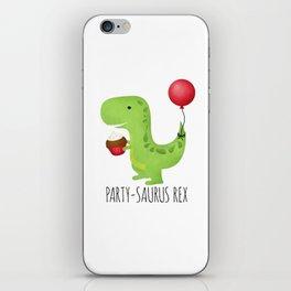 Party-Saurus Rex iPhone Skin